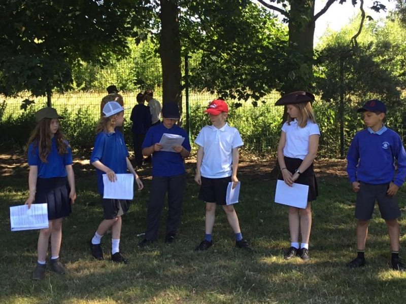 Y6 Practise outdoors